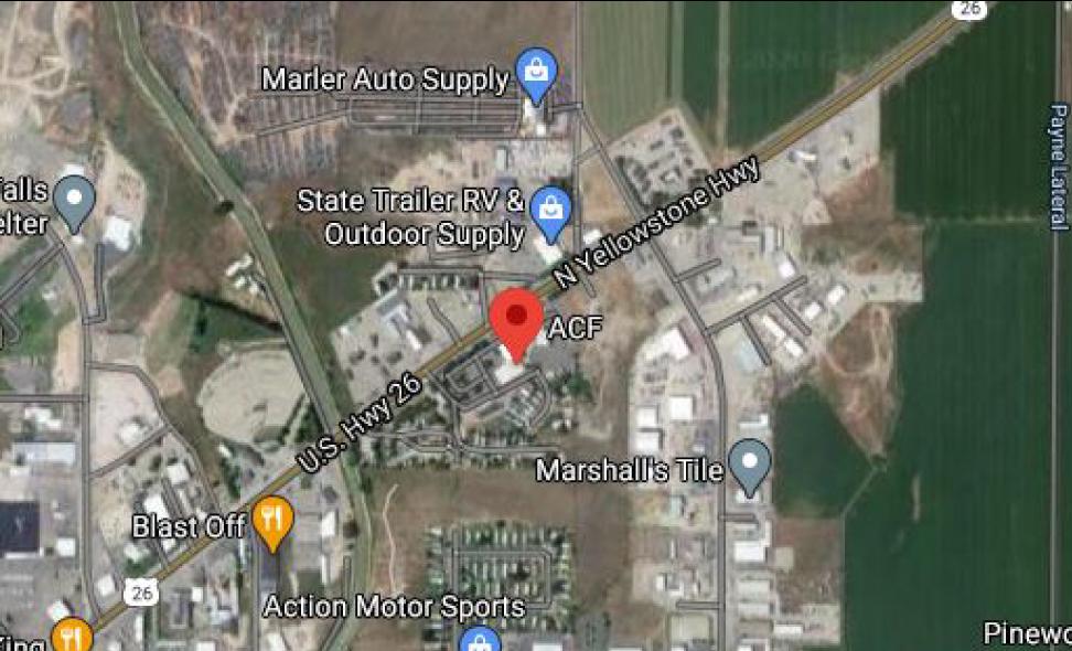 location, MAP, ACF